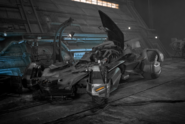 Batmobile concept artwork - Justice League