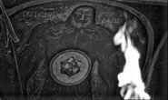 Darkseid mural