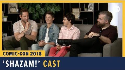 Shazam! Cast Interview - SDCC 2018 Exclusive Interview