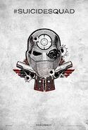 Suicide Squad tattoo poster - Deadshot