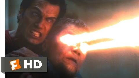 Man of Steel - Superman Kills Zod Scene