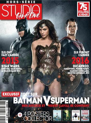 File:Studio Ciné Live - Batman v Superman Dawn of Justice cover.png