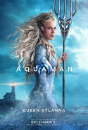 Aquaman - Queen Atlanna character poster