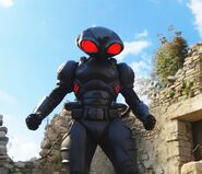 Black Manta Ready to fight
