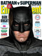 Entertainment Weekly - Batman v Superman Dawn of Justice March 2016 variant cover - Batman