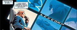 Luthor spies on Batman