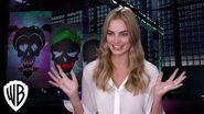 Suicide Squad Margot Robbie Interview on Harley Quinn Bonus Feature Warner Bros