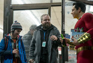 Shazam! behind the scenes - David, Jack, Zach