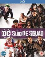 Suicide Squad -Bluray 2018 re-release