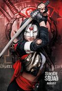 Suicide Squad - Poster - Katana