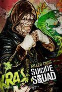 Killer Croc comic character poster
