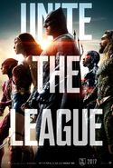 Justice League teaser poster - Unite the League