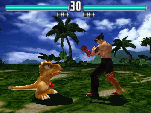 Gon_versus_Jin_Kazama_-_Tekken_3_-_1
