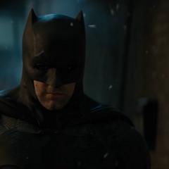 Batman antes de esposar a Deadshot.