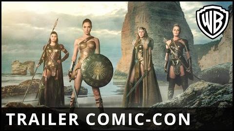 MUJER MARAVILLA - Trailer Comic Con - Oficial Warner Bros