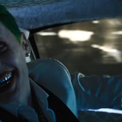 Reacción del Guasón a la llegada de Batman.