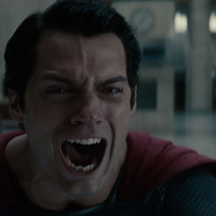 Grito de Superman al matar a Zod.