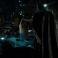 Batman luego de salvar a Harley.
