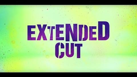 Suicide Squad Extended Cut ANNOUNCE