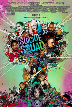 Suicide Squad - Poster WHE