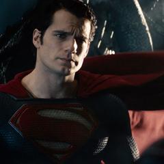 Clark en su última conversación con Jor-El.