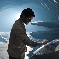 Clark explorando la Fortaleza de la Soledad.