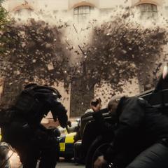 Explosión del Palacio de Old Bailey.