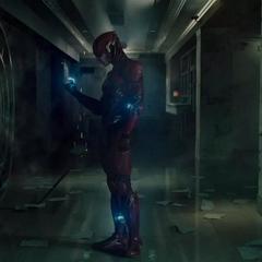 Flash hablando con Capitán Boomerang.