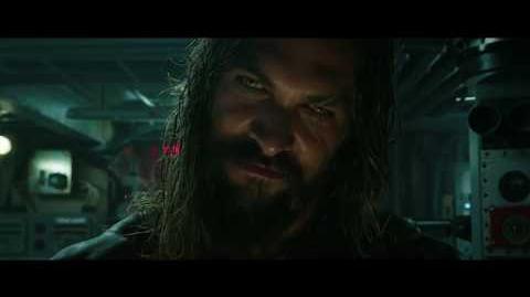 """AQUAMAN - OLAS 30"""" - Oficial Warner Bros"""