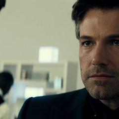 Bruce Wayne conociendo a Clark Kent.