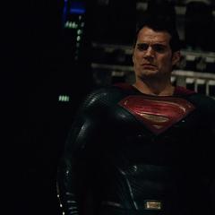 Superman antes de ir a Ciudad Gótica.