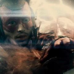 Flash le advierte a Bruce sobre el futuro.