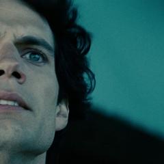 Reacción de Clark a la muerte de Jonathan.