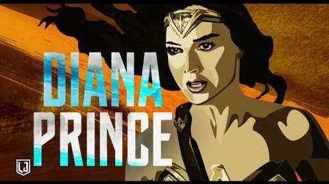 Liga de la Justicia - Mujer Maravilla héroe - Oficial Warner Bros