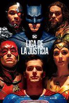 Liga de la Justica - Póster en español