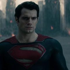 Superman confronta a Zod.