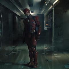 Flash mirando al Capitán Boomerang.