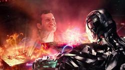 Superman y Cyborg separan las cajas