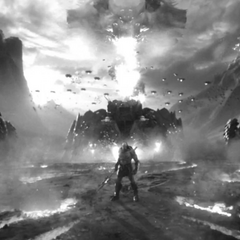 Darkseid lidera a sus tropas en un flashback.