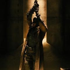 Batman es capturado con algunos de sus soldados.