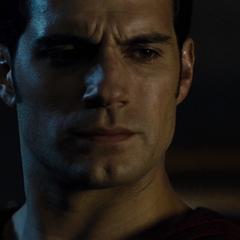 Superman habla con Lois acerca de lo ocasionado en el capitolio.