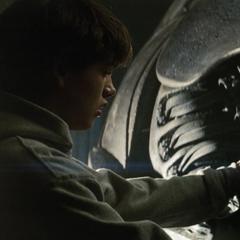 Clark descubriendo la verdad de sus orígenes.