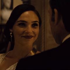 Diana aclarando las cosas con Bruce.