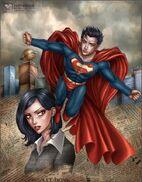 Superman Lois Lane by daekazu