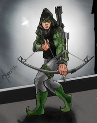 Green Arrow Black Arrow by GeoPhreak