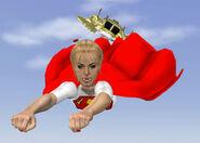 Superwoman-In-Flight