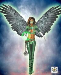 Emerald Hawk by cmeza