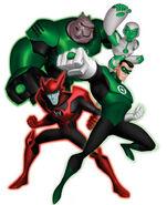 Green Lantern Corps (Green Lantern:The Animated Series)