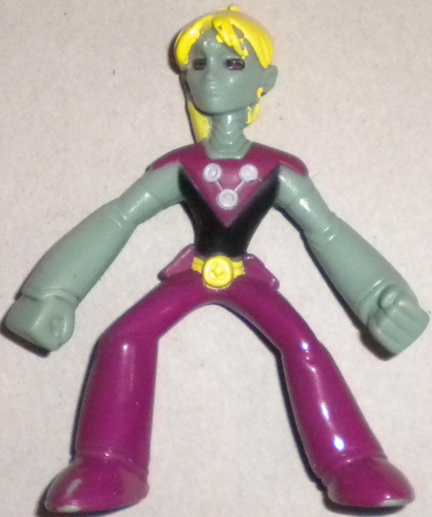 DC Direct Collectibles Legion of Super Heroes Losh Series Brainiac 5 Figure