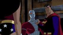 Wonder Woman Animated Mid-Back